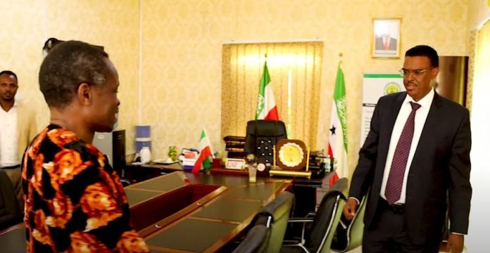 Pan Africanist Professor PLO Lumumba Visits Somaliland