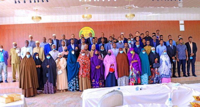Somaliland President Bids Goodbye To Taiwan Scholarships Awardees