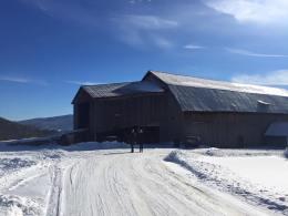The barn at Bragg Farm