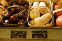 When our produce is not from local suppliers, it is nearly always organic.