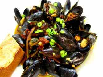 Gas Station Mussels