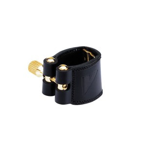 Ligature Vandoren cuir pour saxophone
