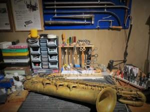 Reparera saxofon renovera saxofon