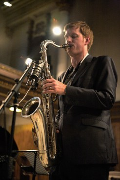 Saxophone Teacher: Nathan Hassall performing at St. James's Piccadilly, London