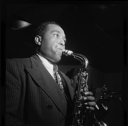 "Analysing Charlie Parker's solo on ""Au Privave""."