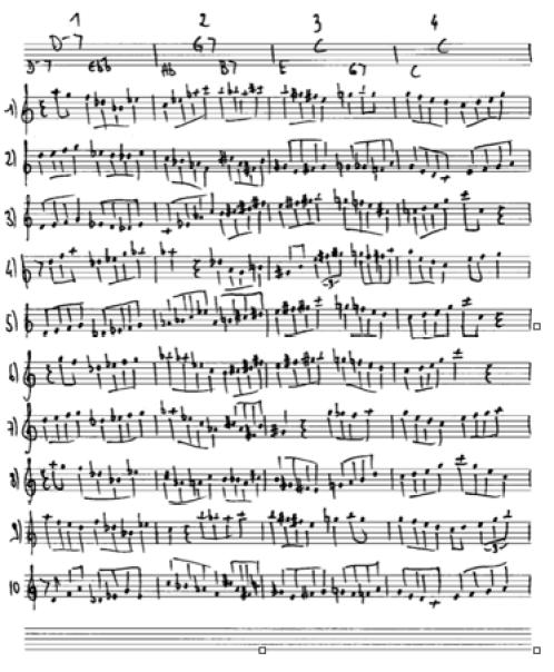 John Coltrane Countdown