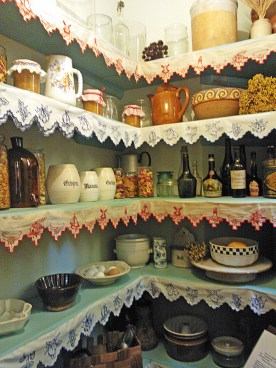 a small food storage room was mandatory in those days