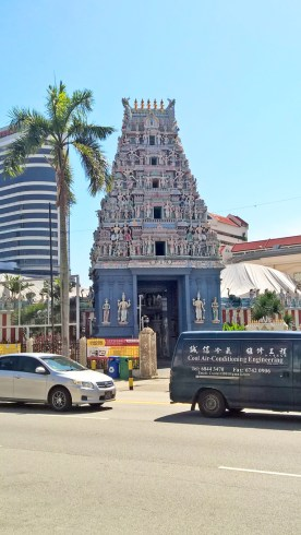 a small Hindu temple in the area