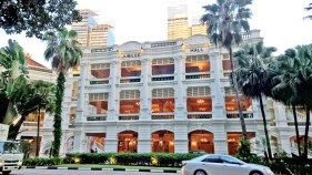 the most expensive hotel in Singapore, so they say