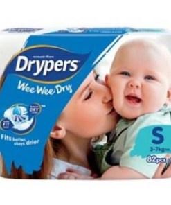 Drypers Wee Wee Dry Mega Pack S82