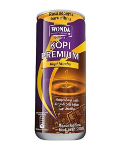 Wonda Coffee Mocha 240ml x 24