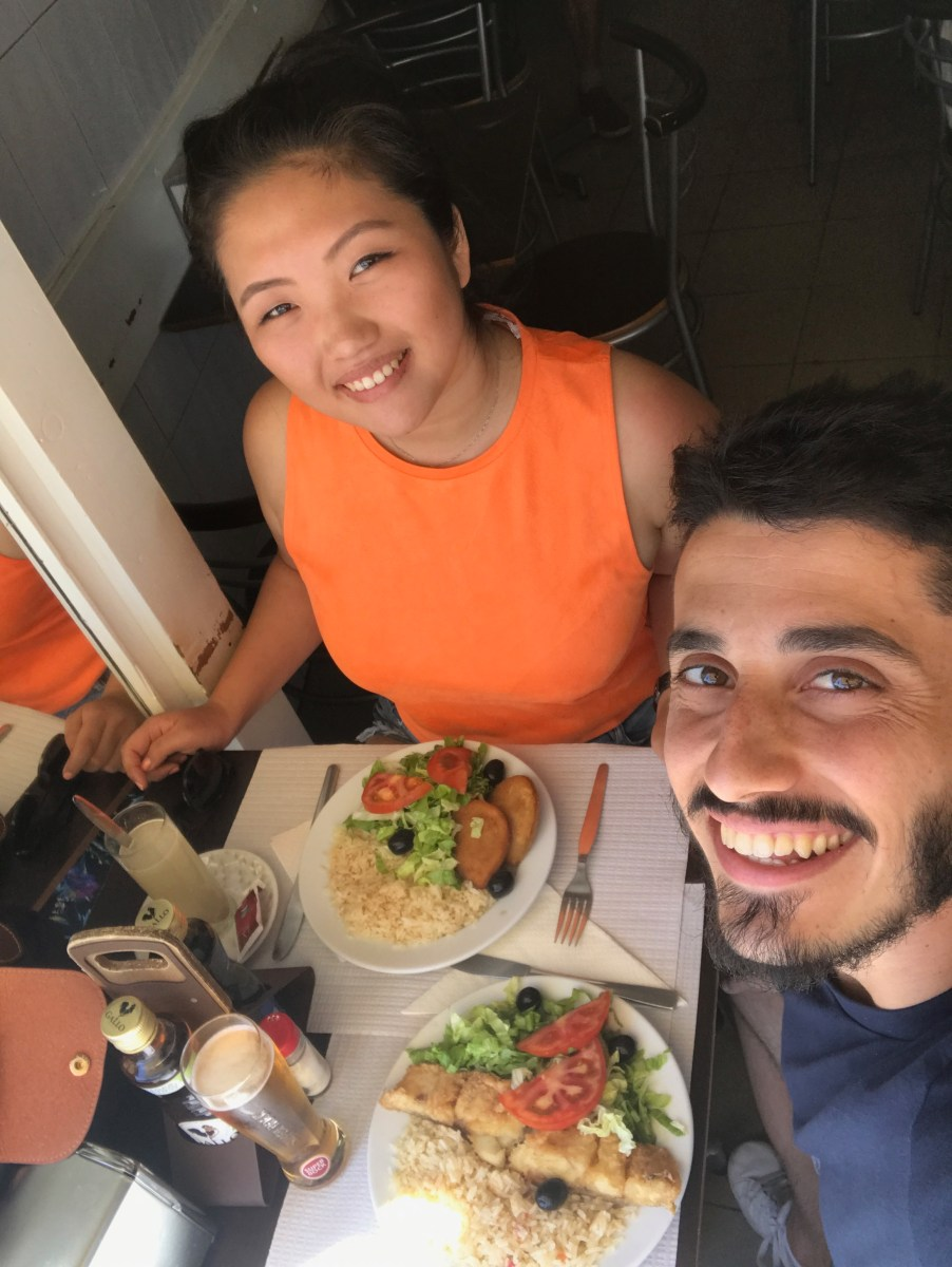 Lisbon lunch
