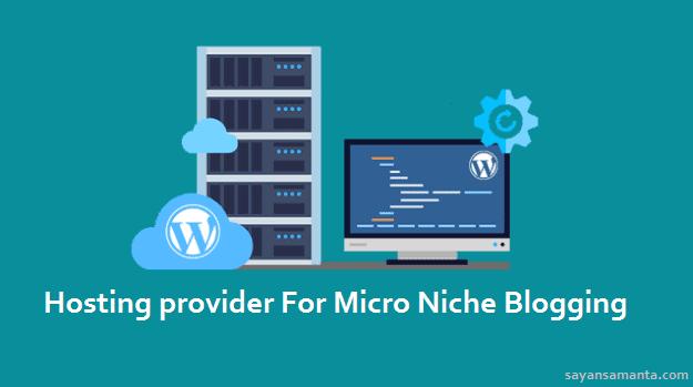 Hosting provider For Micro Niche Blogging
