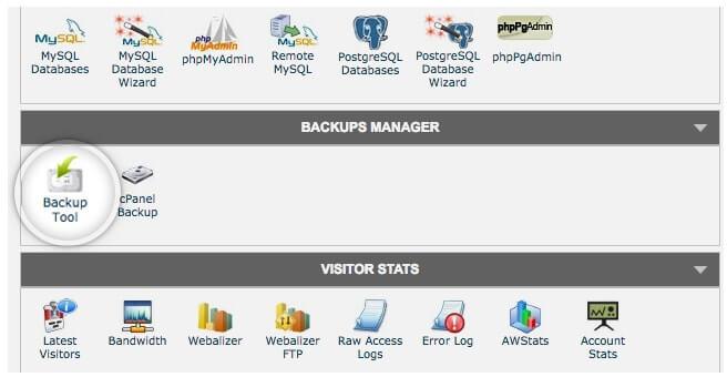 Siteground Backup