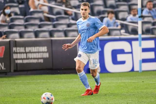 James Sands was NYCFC's first-ever homegrown player.