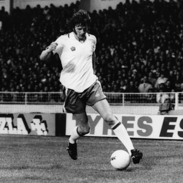 Mick Channon played for England while in the Second Division with club side Southampton