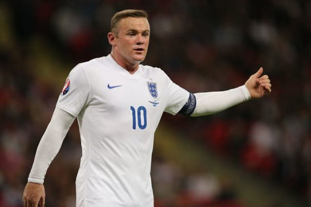 Wayne Rooney broke England's all-time goal record in 2015