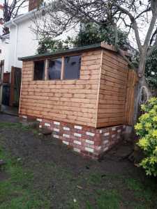 Garden Shed For Sloping Ground