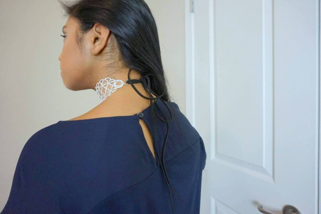 back of rubi choker