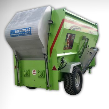 Cattle Feed Mixer Turkish Quality From 1,5m3 to 16m3