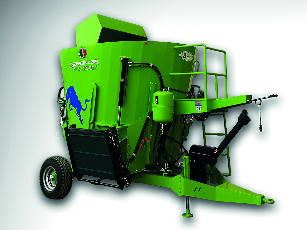 Vertical Feed Mixer Wagon-Saygınlar Agriculture Machinery