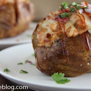 BBQ Chicken Baked Potato