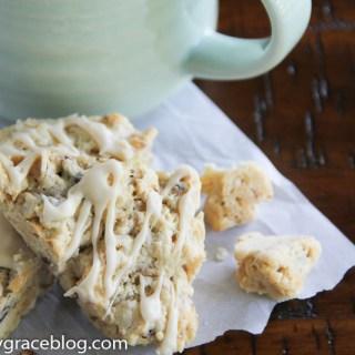 Pecan & Maple Oatmeal Scones