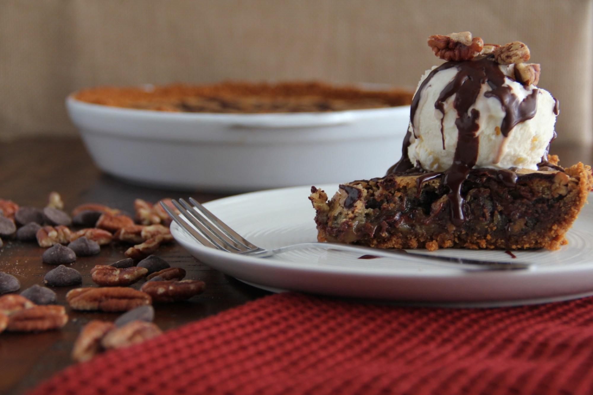Chocolate Chip Cookie Pi(e)