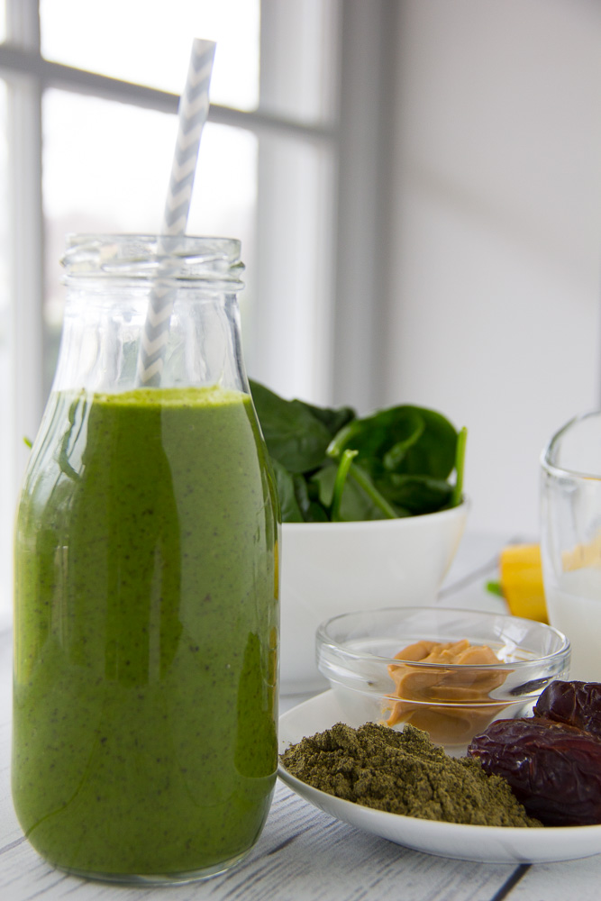 Over The Rainbow Green Smoothie-2