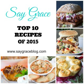 Top Ten Recipes of 2015