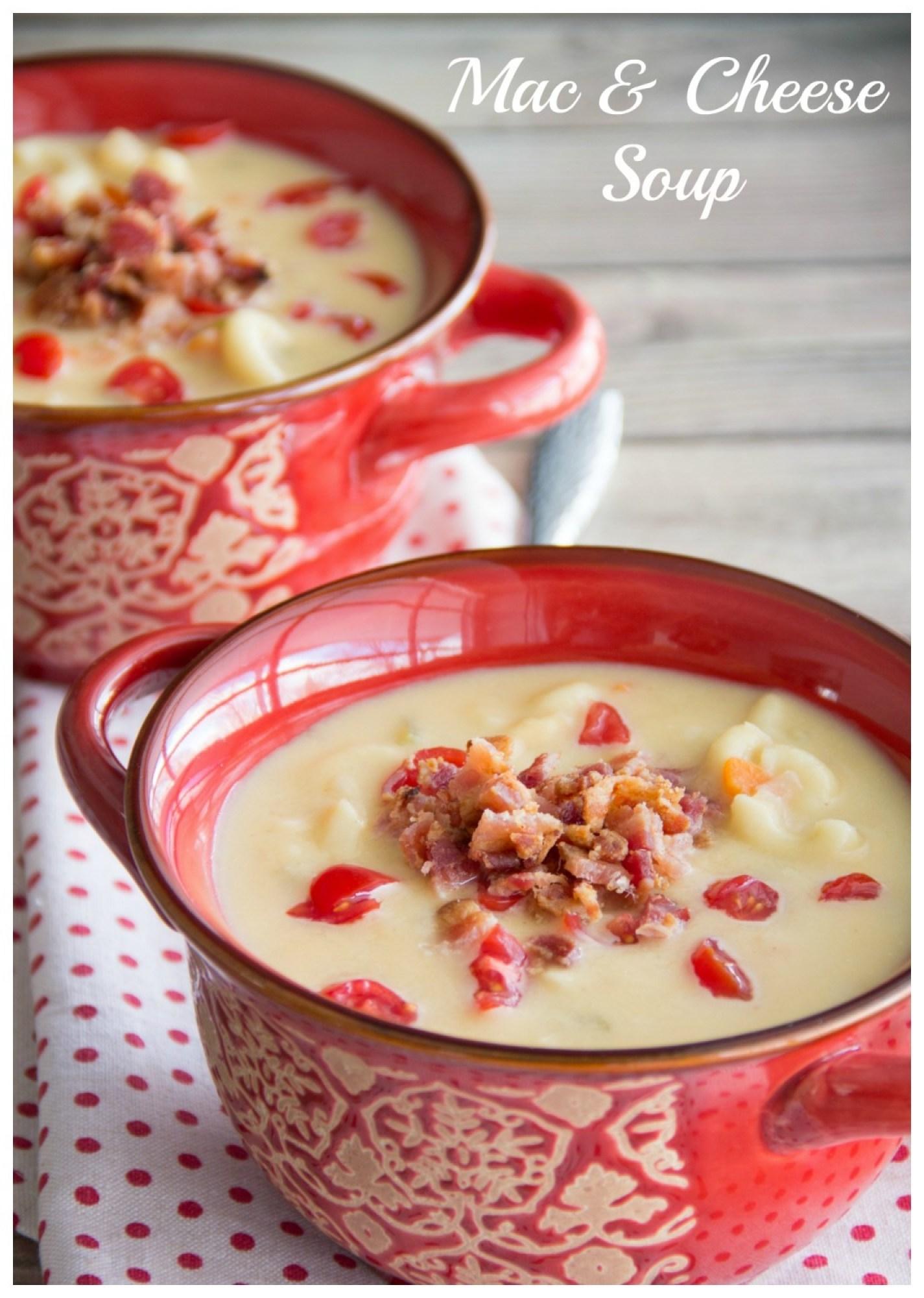 Mac & Cheese Soup