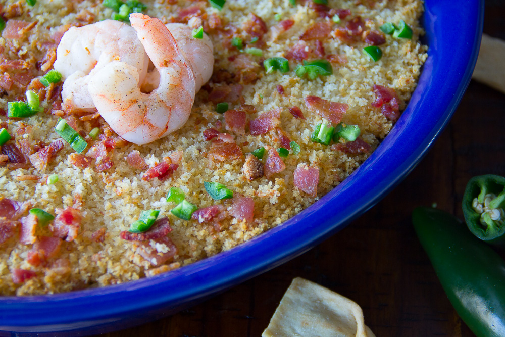 Shrimp Jalapeno Popper Dip
