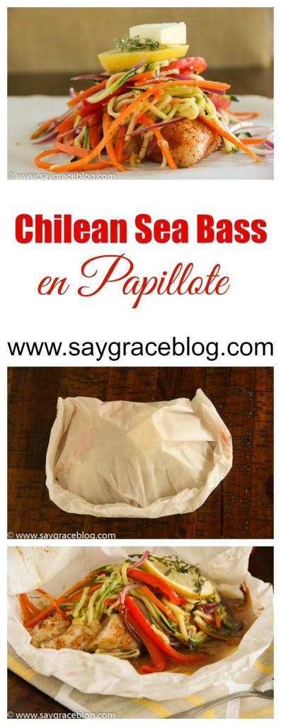 Chilean Sea Bass en Papillote