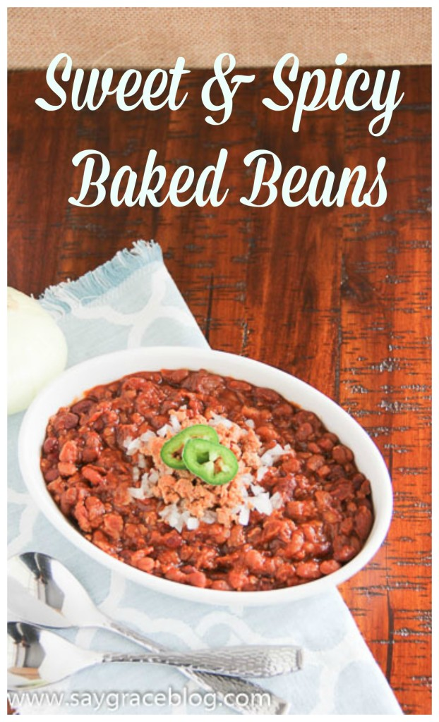 Sweet & Spicy Baked Beans