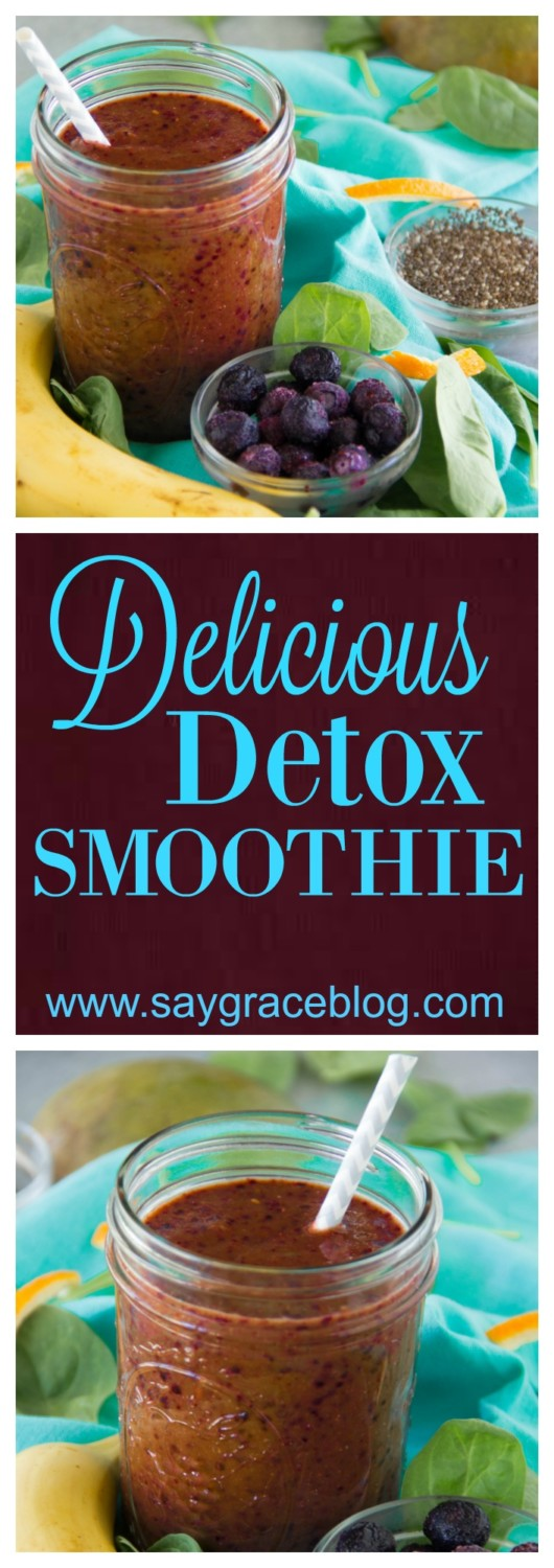 Delicious Detox Smoothie