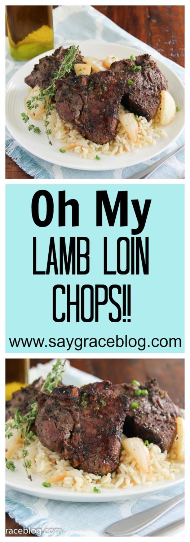 Oh My Lamb Loin Chops