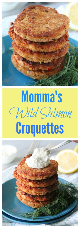 Momma's Wild Salmon Croquettes