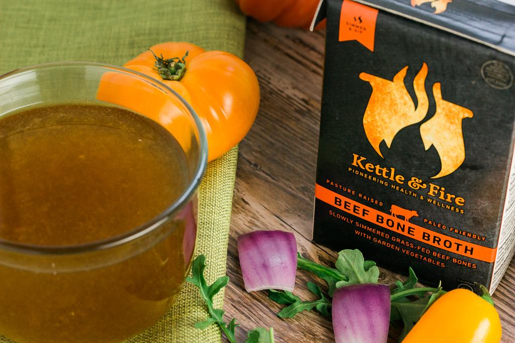 Beef Bone Broth {Kettle & Fire}