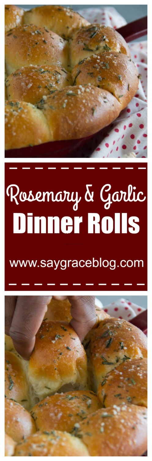 Rosemary & Garlic Dinner Rolls