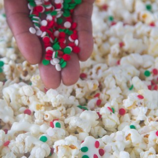 Yummy Frosted Sugar Cookie Popcorn
