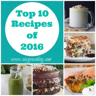 Top Ten Recipes of 2016
