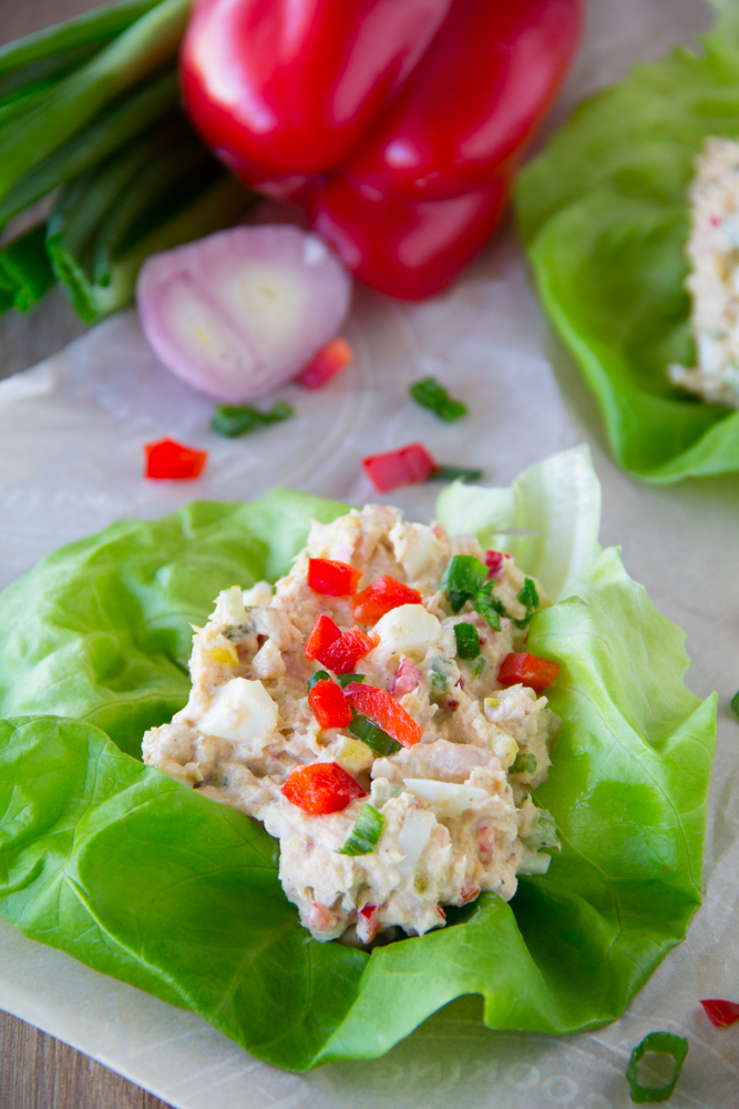 Tuna Salad Recipe with Eggs