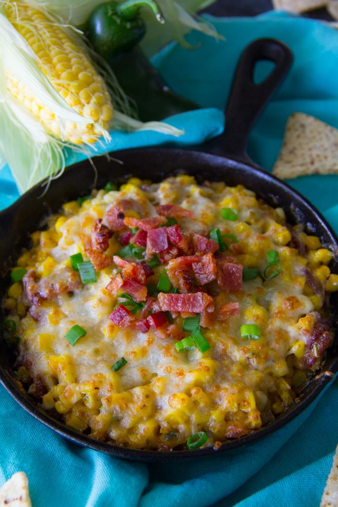 Fried Corn Dip Recipe {Gluten Free}