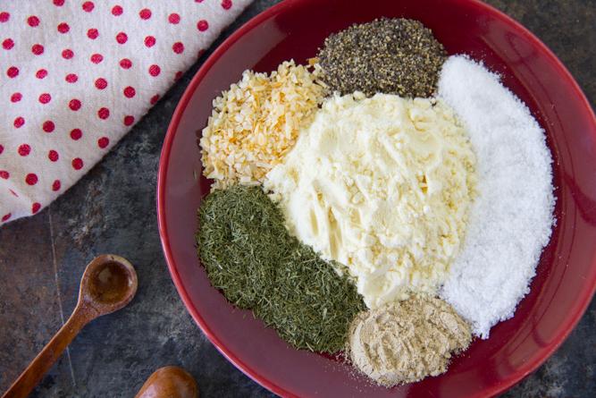 Homemade Ranch Seasoning Recipe