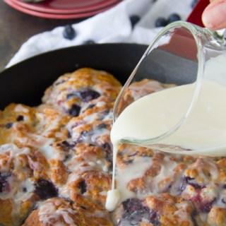 Glazed Blueberry Biscuits Recipe {Bojangles Copycat}