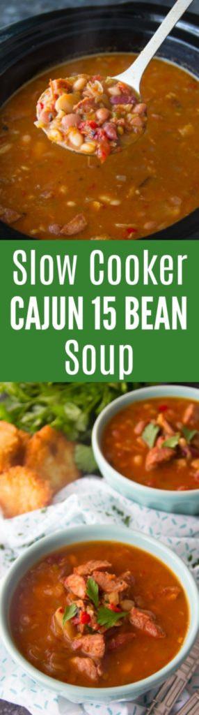 Cajun 15 Bean Soup Recipe