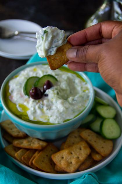 Authentic Greek Tzatziki Sauce Recipe