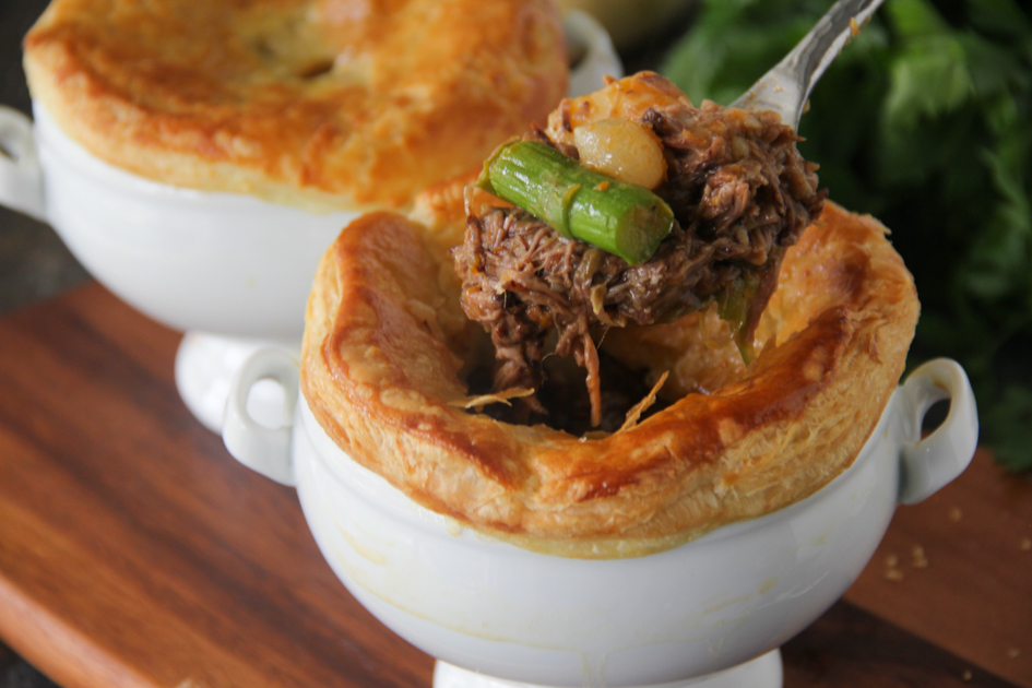 Braised Beef Short Rib Pot Pie