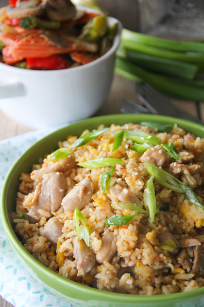 Benihana Chicken Fried Rice Recipe