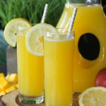 Homemade Mango Lemonade Recipe